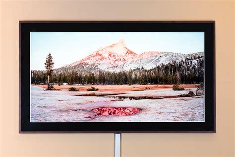 frame tv von samsung ein fernseher wie gemalt hifi