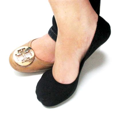 flat shoe socks 3 pairs foot covers womens footies dress flat shoes soft