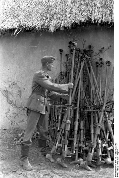 german soldier vs soviet 1472824563 southern russia 1943 german soldier collects soviet 14 5 mm anti tank rifles against the wall