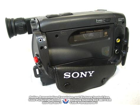 vide8 camcorder sony ccd trv40 handycam video8 camcorder 3 in lcd 90