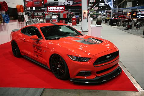 2015 Mustangs At The 2014 Sema Show Rod Network