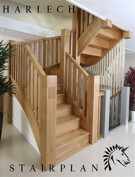 House Plans Country harlech oak staircase character oak stair