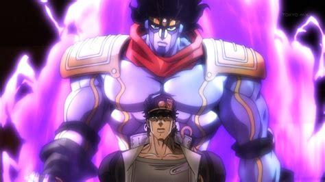 jjba stardust crusaders jotaro and stand anime tree