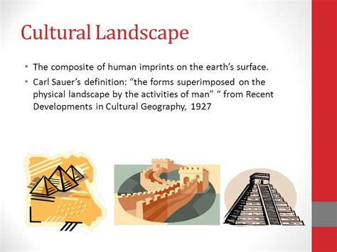 Cultural Landscape Definition Geography Also Known As Human Geography Hanks Hs Ppt