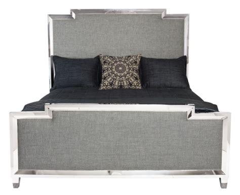 Metal And Upholstered Headboards Metal Upholstered Panel Bed Bernhardt