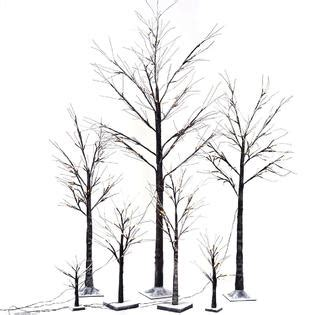 birch tree micro led brown warm white 100cm goplus brown birch snow tree led light warm decorative festival