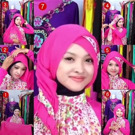 tutorial hijab paris pesta modern tutorial hijab paris segi empat modern untuk pesta