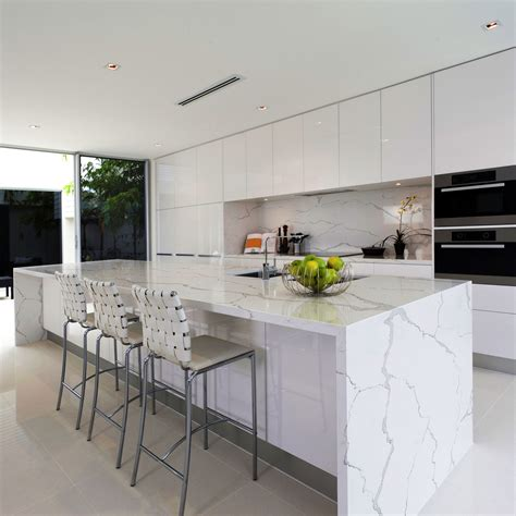 top cucina quarzo bianco stunning top cucina quarzo bianco photos ideas design