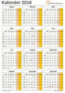 Kalender 2018 Excel Zum Ausdrucken Kalender 2018 Zum Ausdrucken Kostenlos