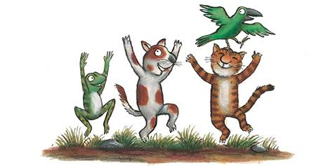 Room On The Broom Animals an introduction to room on the broom book