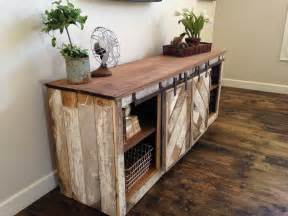 Barn Door Tv Stand Plans Ana White Grandy Sliding Door Console Diy Projects
