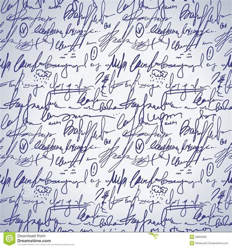 pattern of abstract writing abstract seamless hand write pattern royalty free stock