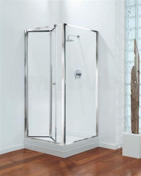 Shower Door Brands Center Brand Cbgbbf76cuc Chrome Clear Glass Bifold Shower Door 760mm Wide Wolseley