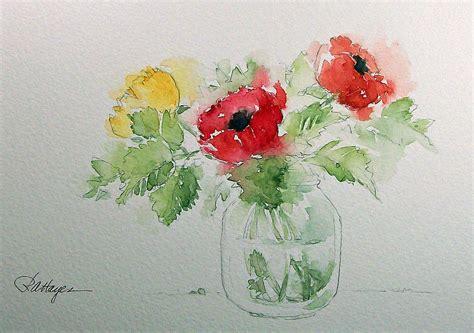 easy watercolor paintings flowers watercolor paintings by roseann hayes july 2012