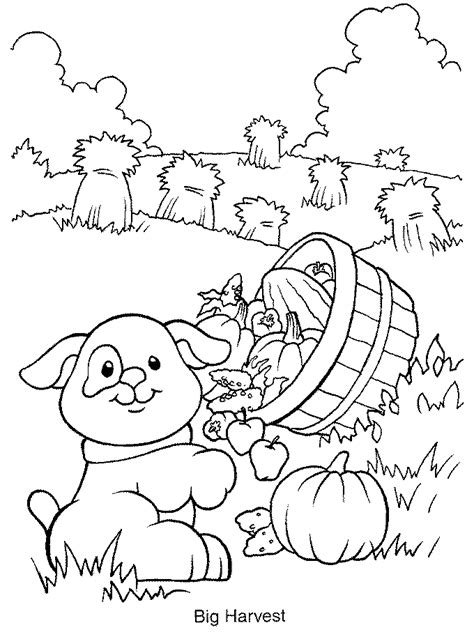 farm animals coloring page dog   Gianfreda.net