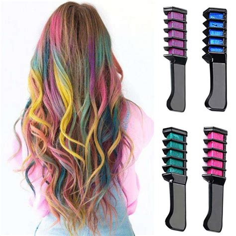 temporary blue hair color aliexpress buy hair mascara 2017 new design crayons