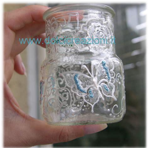 vasi di vetro decorati barattoli di vetro decorati decoupage crafts