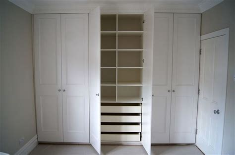 fitted wardrobe made and painted six doors fitted