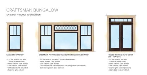 craftsman house windows craftsman bungalow home style exterior window door details house exterior details