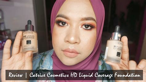 Catrice Cosmetic Hd Liquid Coverage Foundation catrice cosmetics hd liquid coverage foundation review