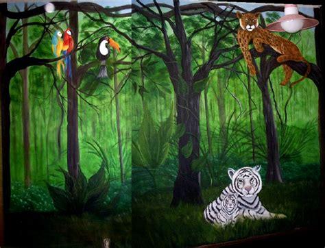 jungle wall mural jungle mural