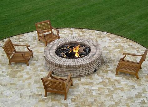 Deluxe 25 Inch Fire Pit Kit With Electronic Ignition Outdoor Gas Pit Kits