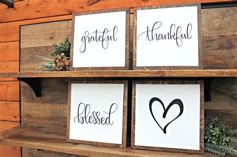 diy home decor signs diy workshop set of 4 home d 233 cor signs anna s flowers