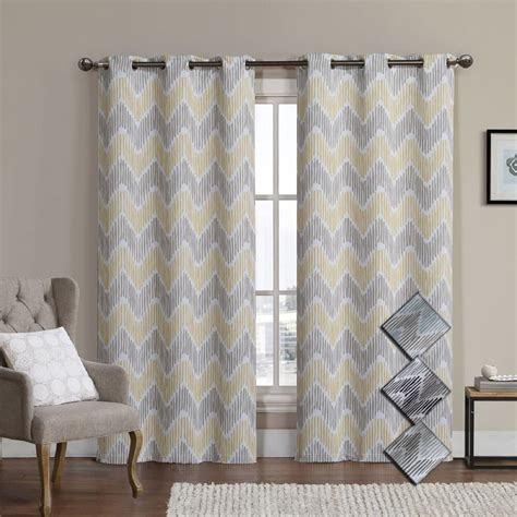 blackout curtains pair marlie woven jacquard insulated blackout curtain pair