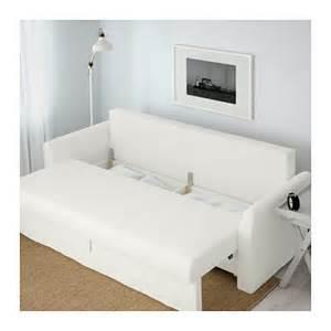 Ikea Pink Chair Holmsund Three Seat Sofa Bed Ransta White Ikea