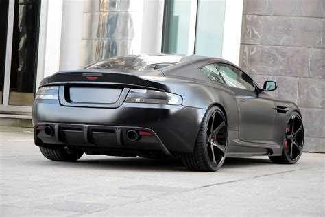 aston martin blacked out aston dbs superior black by anderson germany