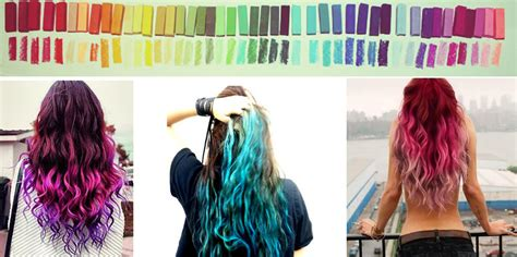 chalk paint your hair diy hair dye without the commitment ix daily