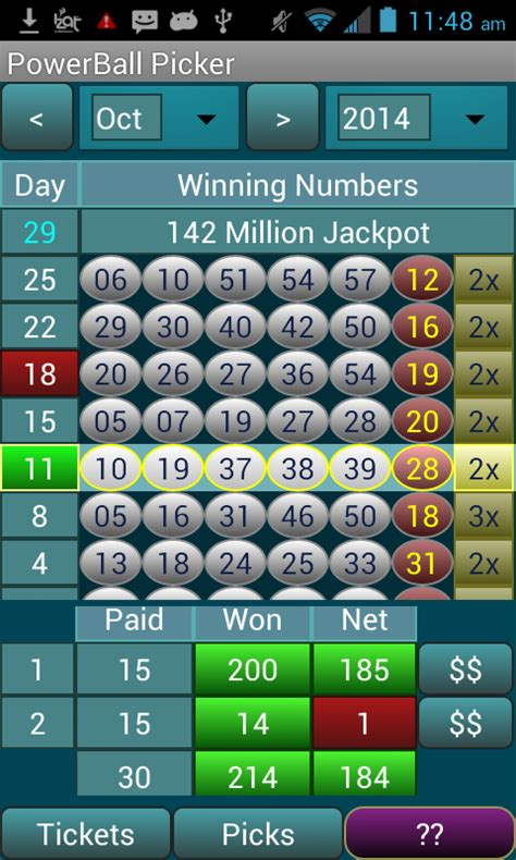 powerball app android powerball picker lite android apps on play