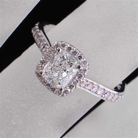 black and pink engagement ring hd engagement rings