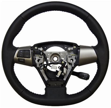 toyota matrix steering wheel black leather