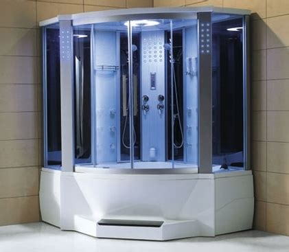 Jetted Tub With Shower brand new massaging steam shower with jetted tub
