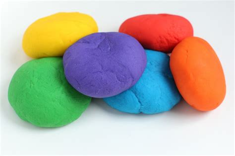 Handmade Playdough - gluten free playdough kitchen frau