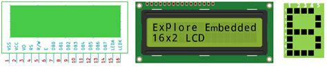 16x2 lcd pin diagram a1 8051 interfacing lcd 16x2 tutorials