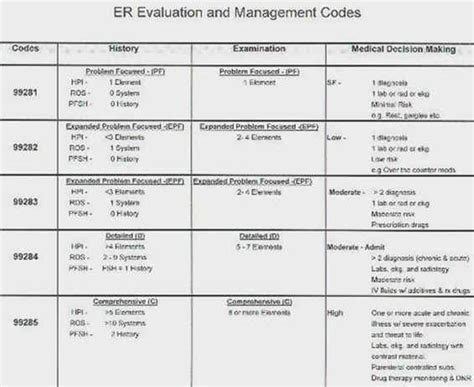 Emergency Department Billing And Charting Crashing Patient Emergency Room Charting Templates