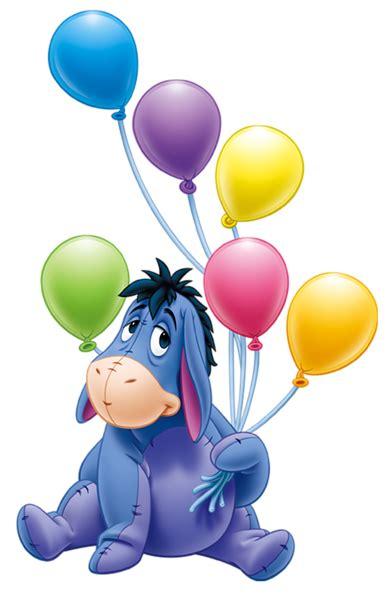 imagenes de winnie pooh con globos eeyore con globos de dibujos animados png transparente