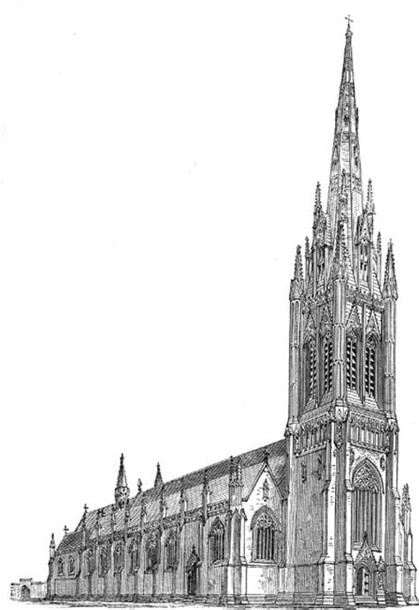 awn pugin st george s roman catholic cathedral by augustus welby northmore pugin 1812 1852