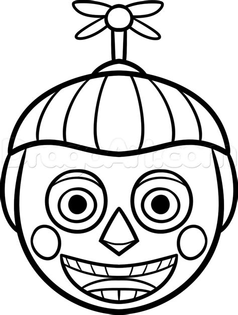 fnaf coloring pages balloon boy freddy crafts pinterest freddy fazbear fnaf and