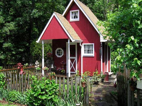 garden sheds charming garden retreats outdoor spaces patio ideas