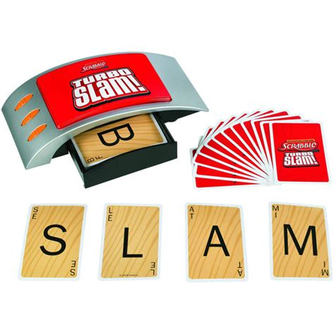 Scrabble Turbo Slam Scrabble Card Electronic