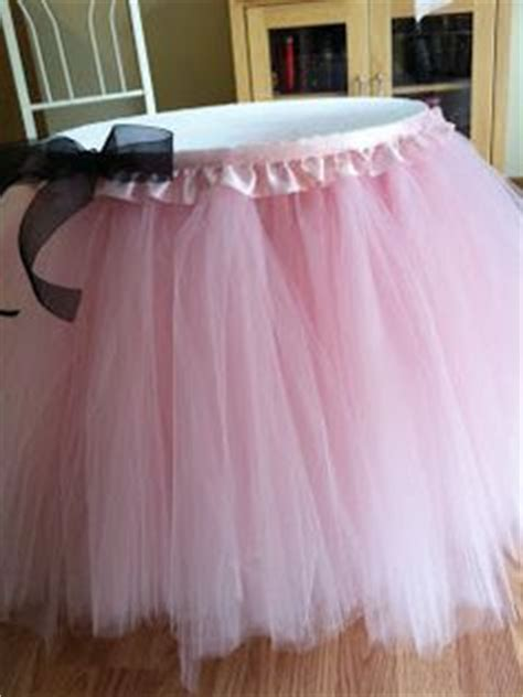 how to do a tutu table skirt how to a tutu table skirt crafts