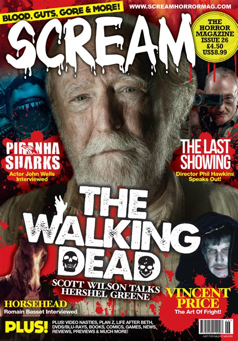 Find Magazine The Issue Of Scream Out Now Across The Uk The Horror Entertainment Magazine