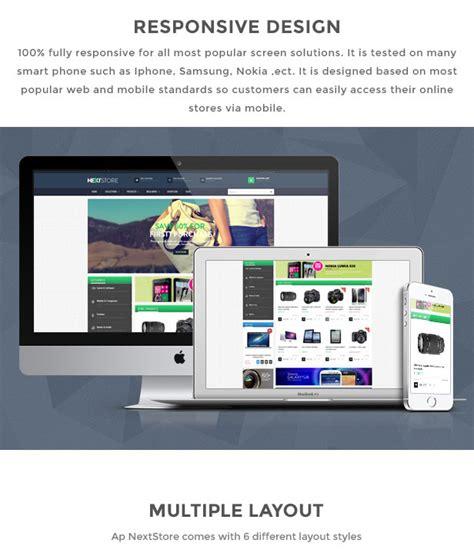 ap next store shopify responsive theme shopify