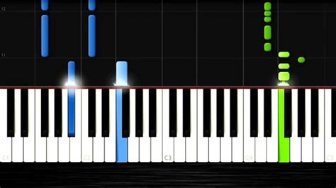 tutorial piano synthesia sia chandelier easy piano tutorial by plutax