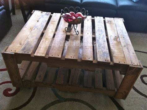 how to make a coffee table out of pallets 12 diy recycled pallet tables pallet furniture plans