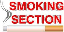 the smoking section holy heteroclite quot if you want to see god sit in the