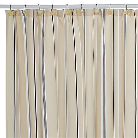 nautica shower curtains sawyer striped shower curtain by nautica bed bath beyond